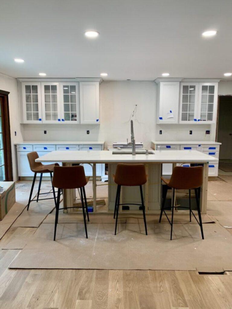 KitchenMaid cabinet installation
