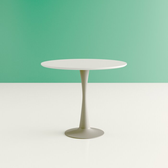 Simple round table from Wayfair