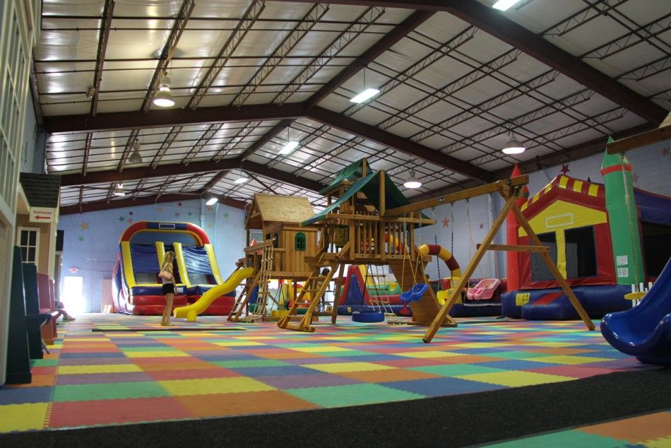 Kid-friendly activities in Toledo: Let your kids burn some energy at Playland | Building Bluebird