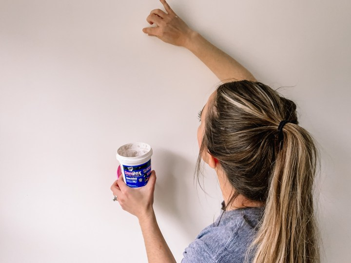 How to prep walls when painting a room | Building Bluebird