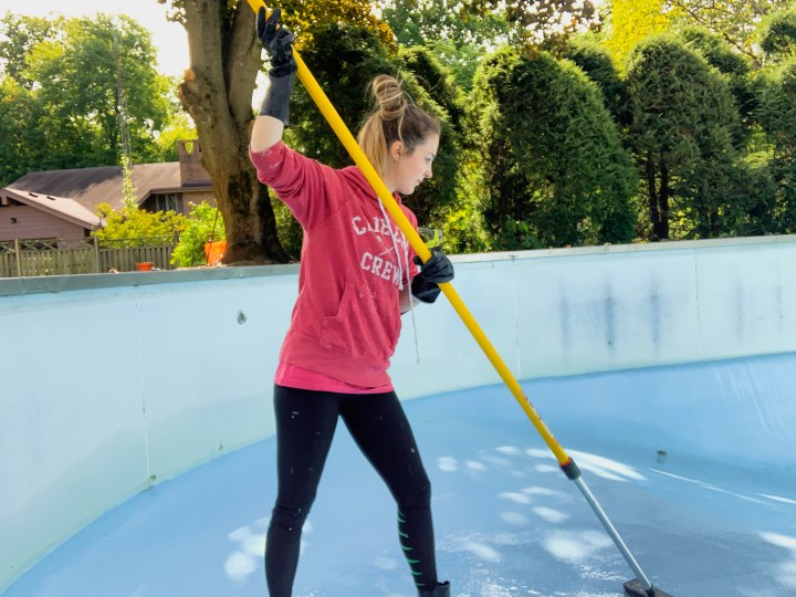 How to paint a pool | Building Bluebird #diy #tutorial #homerenovation
