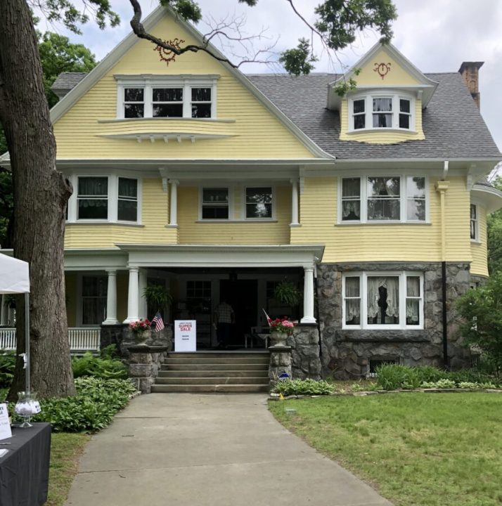 Walk through the historic Old West End Neighborhood in downtown Toledo