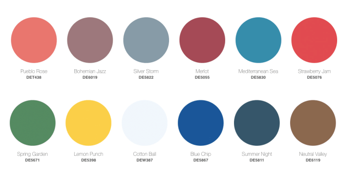 2021 Paint Color Trends - Dunn-Edwards color trends & design story | Building Bluebird #designtrends #paintcolors #homerenovation #diy #coty #2021coty #coloroftheyear