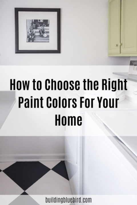 How to choose the perfect paint color for each room in your house | Building Bluebird #swcolorlove #newhome #paintcolor #greige #diy