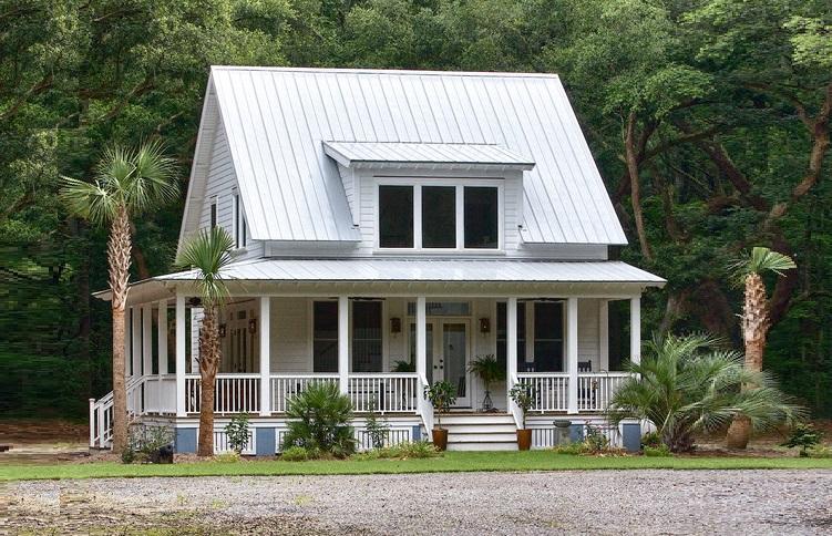 title   farmhouse with wrap around porch