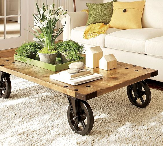 amazing coffee tables for barn style houses
