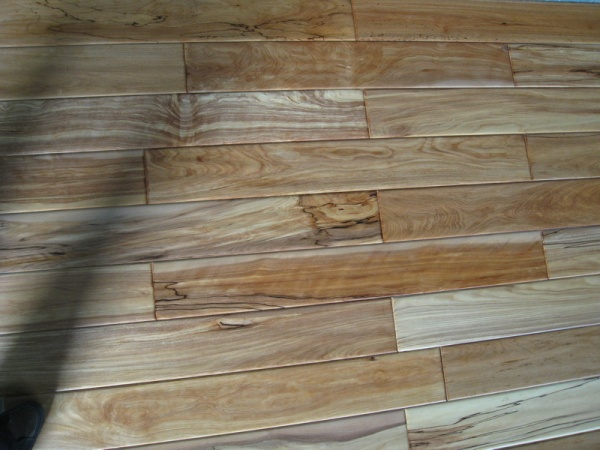 Handscraped hardwood golden birch prefinished flooring in for Hardwood floors of lancaster