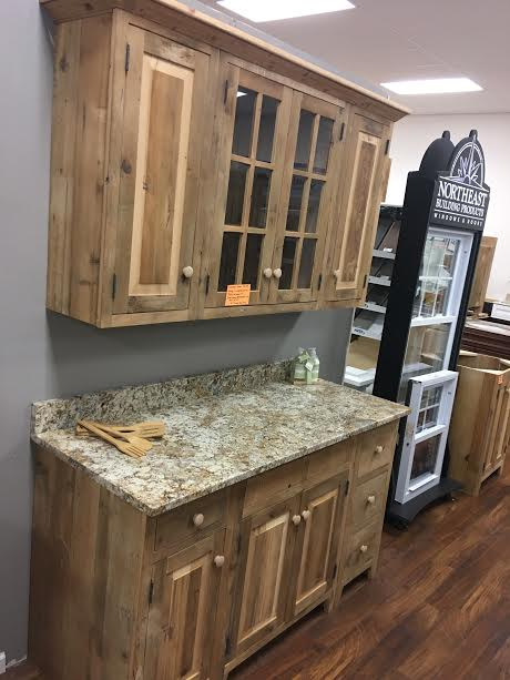 Reclaimed Wood Kitchen Countertops
