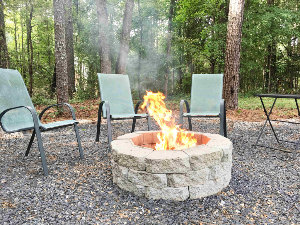 How to Make a DIY Fire Pit in Your Backyard - Building Our Rez on Backyard Fire Pit Ideas Diy id=35181