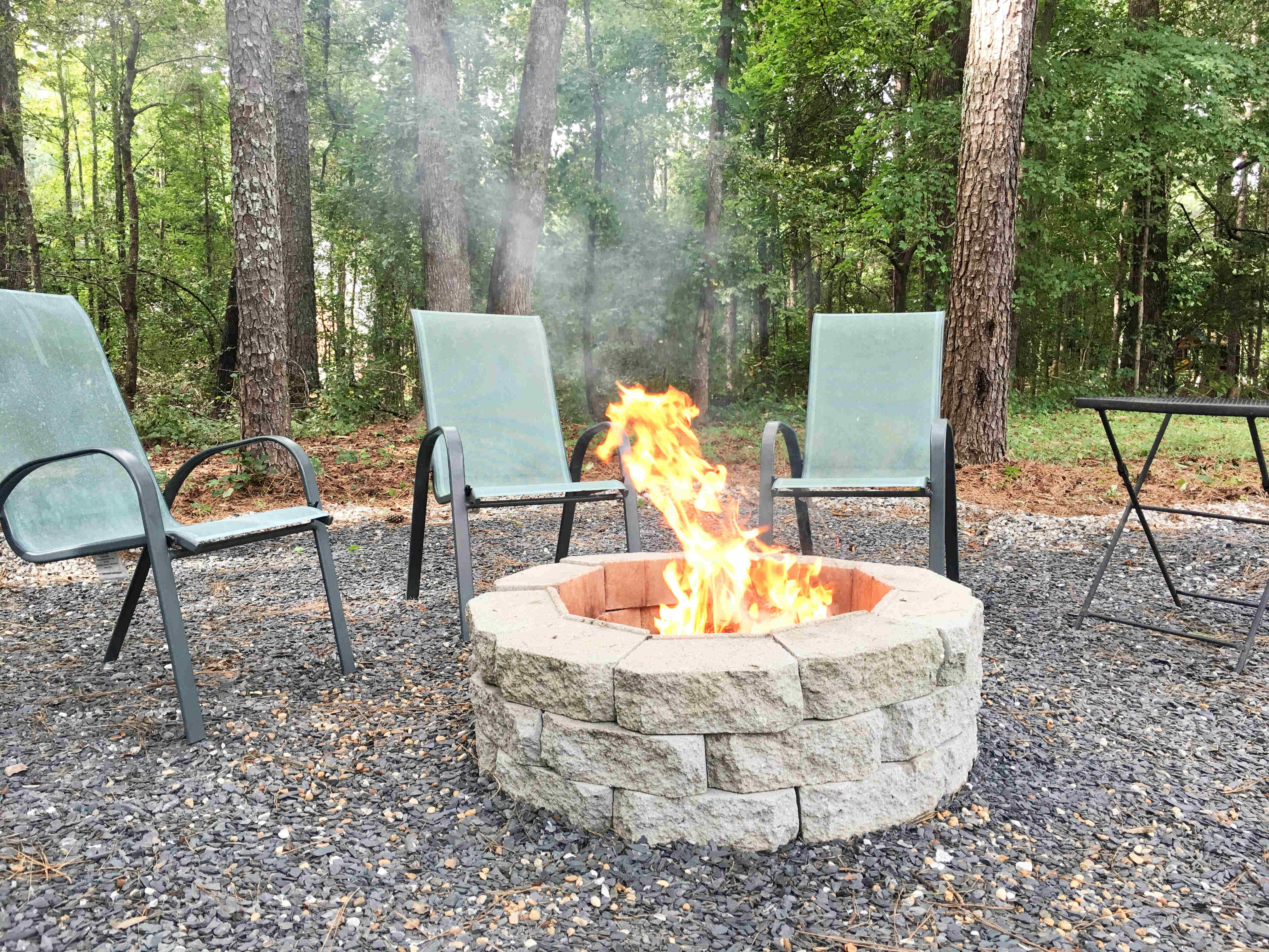 How to Make a DIY Fire Pit in Your Backyard - Building Our Rez on Diy Outdoor Fire  id=21916