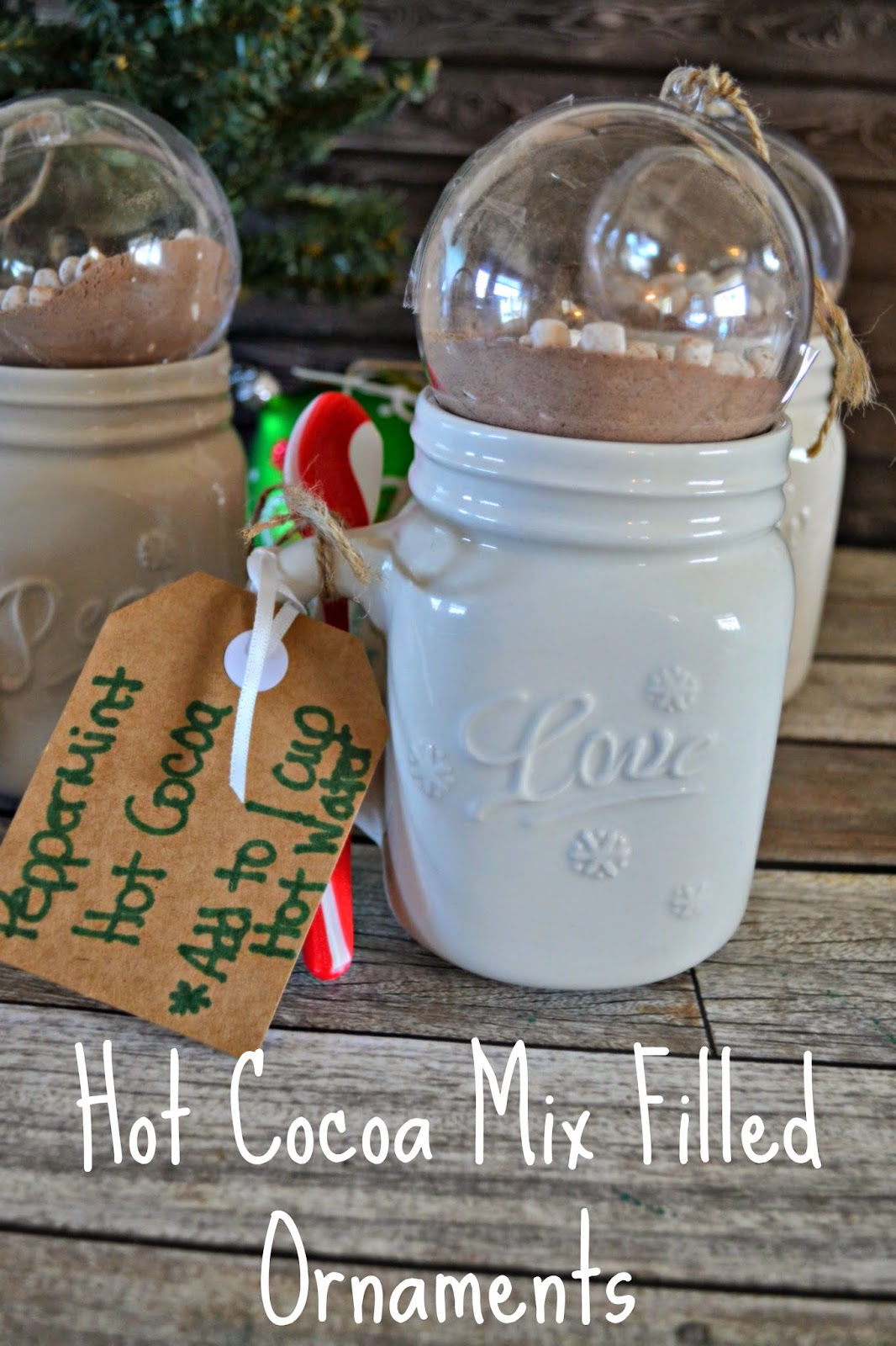 Hot Cocoa Mix Ornaments Holiday Gift Idea Building Our