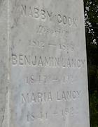 Cemetery 25 Lancy Benjamin III
