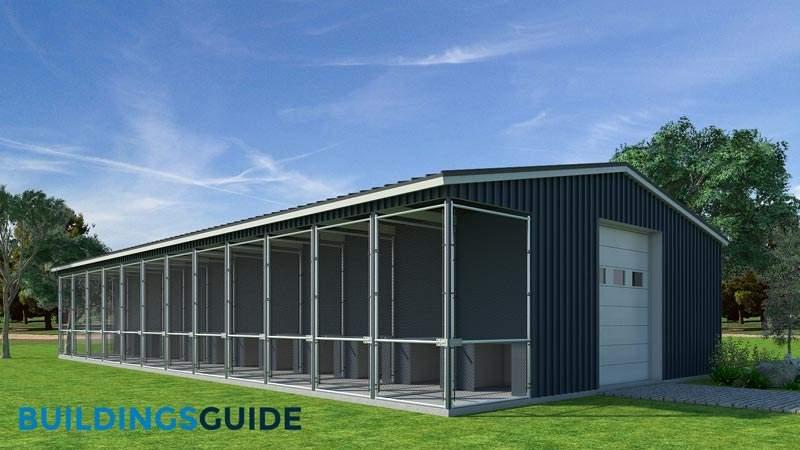 Dog Kennel Buildings: Design, Pricing, Plans