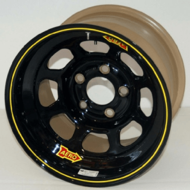 The five-lug steel wheel used by NASCAR until 2021