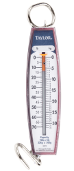 A picture of a spring scale to be used for measuring the coefficient of friction