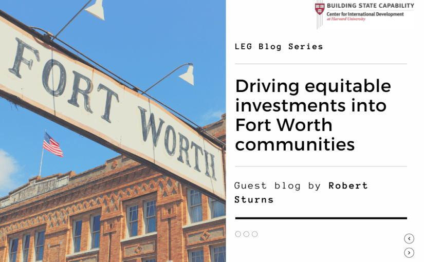 Promoting Equitable Investment and Job Generation in Fort Worth, Texas