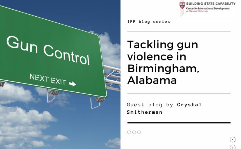 Tackling gun violence in Birmingham, Alabama