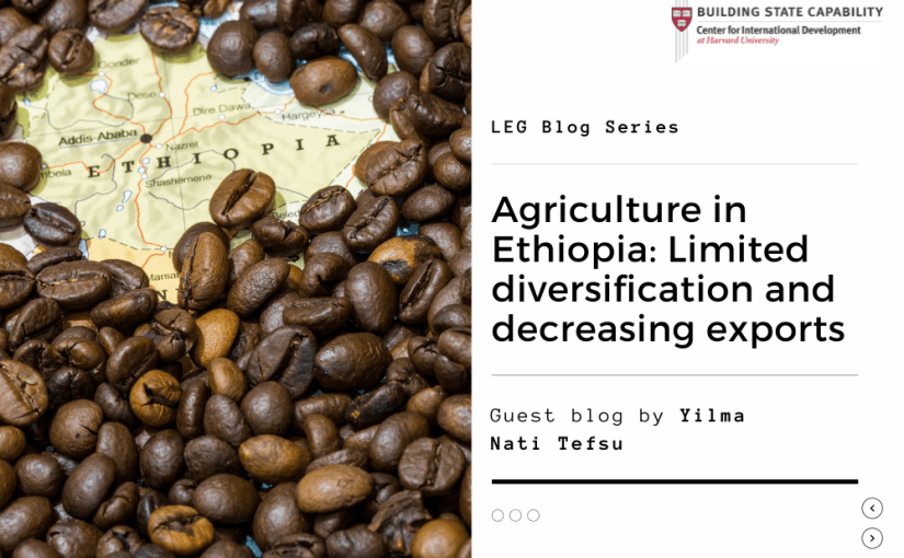 Tackling limited diversification and decreasing exports in Ethiopia