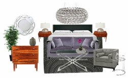 OB-master bedroom - sexy regal violet