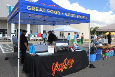 Glory Day Grill Booth