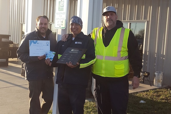 Oscar Benitez December 2019 Employee of the Month