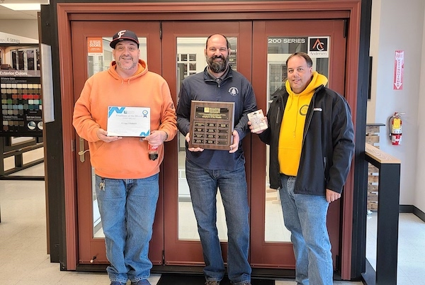 Gregg Lindahl February 2020 Employee of the Month
