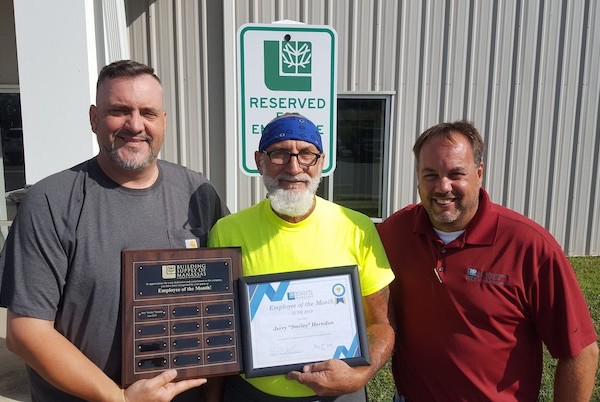 Smiley Herndon June 2019 Employee of the Month