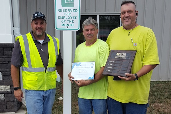 Donnie Reed September 2019 Employee of the Month