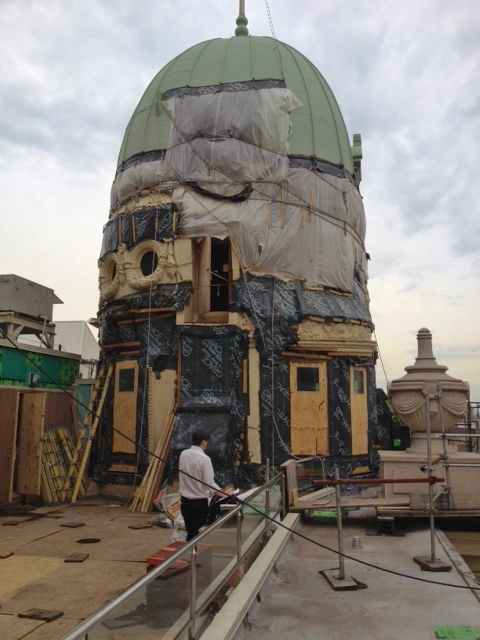This historic dome is a piece of NYC prime real estate and required extreme attention to detail. Our laser measurements and over 30 years of experience enabled us to complete the project quickly and efficiently.