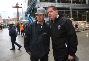 (Boston, MA 5/3/19) Mayor Martin Walsh attends the BTEA for Recovery Week Stand-Down. (Mayor's Office Photo by John Wilcox)