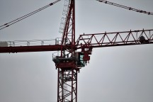 One Grant Park tower crane 4