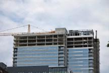 Alta Roosevelt lowers the crane 5