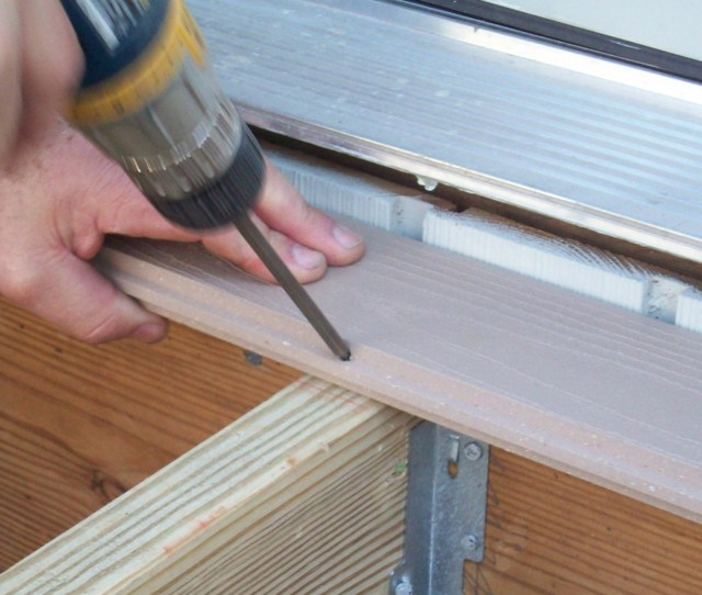 Plastic Decking Credit Azek Building Products