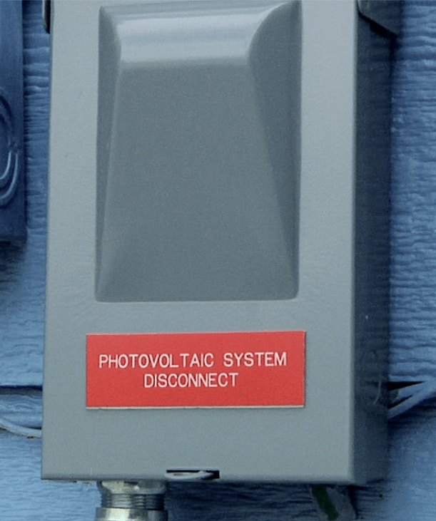 Electrical Disconnect