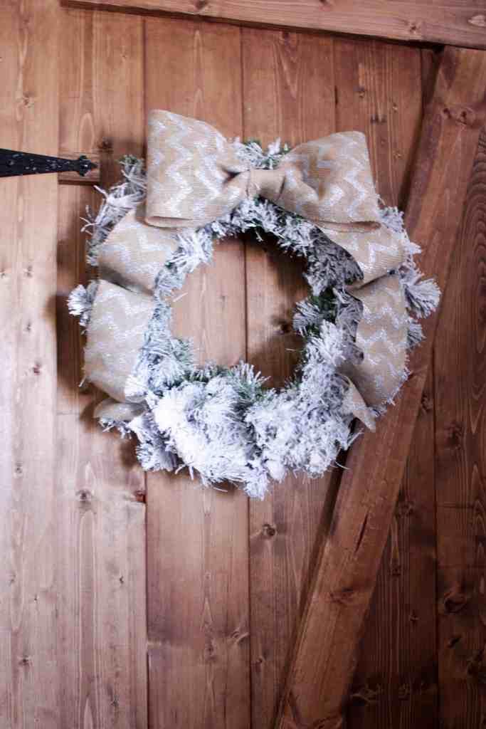 Christmas Tree Flocking Fun