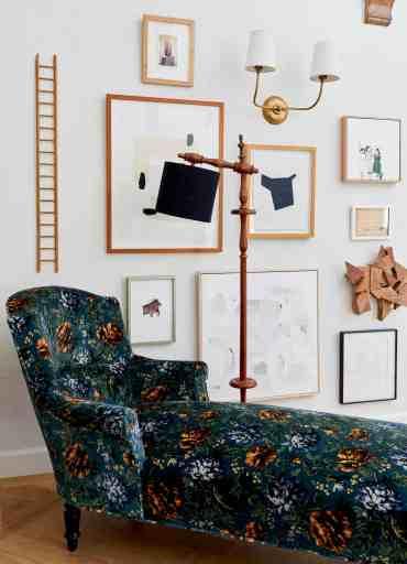 Emily Henderson Vintage Chaise