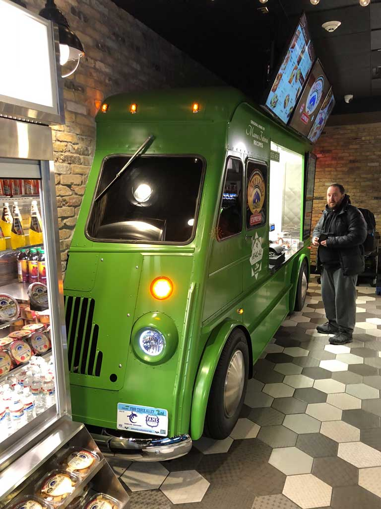 Indoor Food Truck Halls Chameleon Concessions