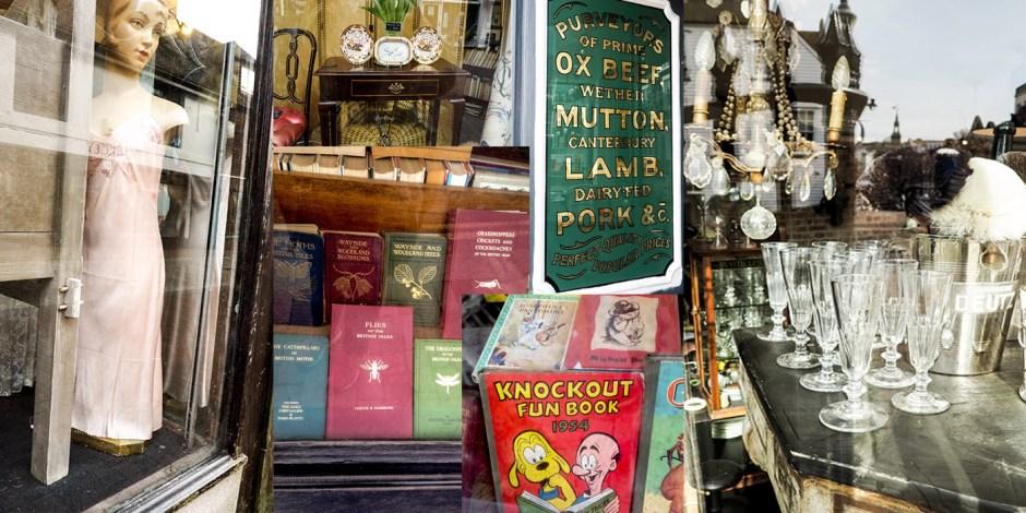 antique shops Lewes