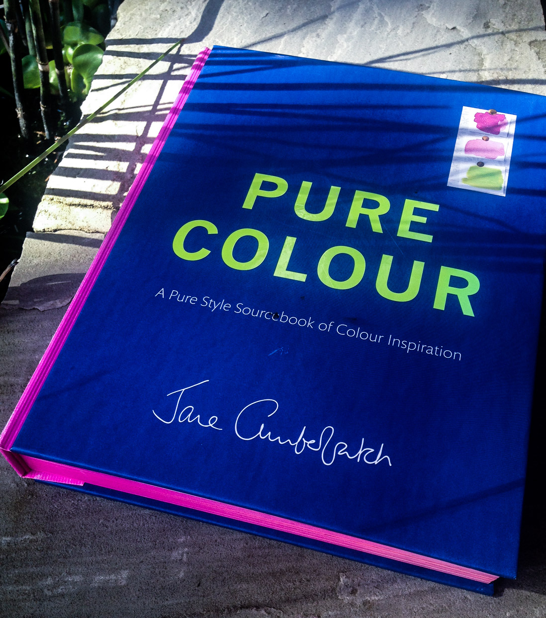 Colour book edges - Jane Cumberbatch Is A Blogger A Designer Author And An Interiors Expert Who Has Been Called The Queen Of Simple But This Book Is A Wonderful Cacophony Of