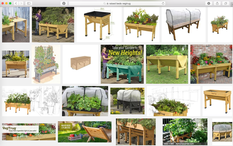 raised beds veg trugs Buildmumahouse accessible garden