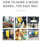 My latest blog post How to make a mood boardhellip