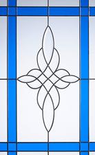 crystal harmony blue glass