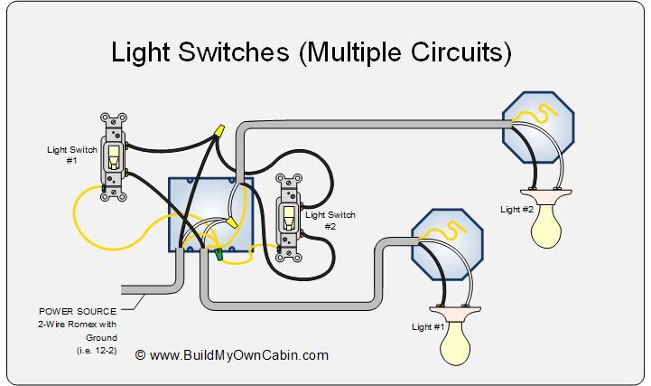 Light Switch Wiring Diagram