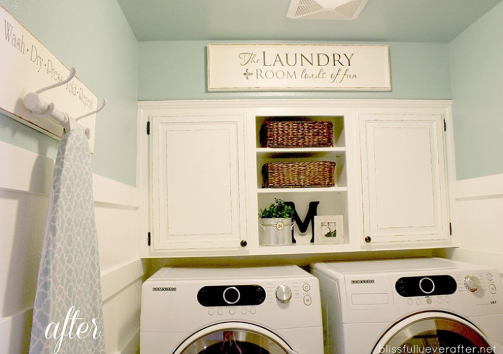 10 Laundry Room Ideas for Decoration and Organization ... on Laundry Decoration  id=64952