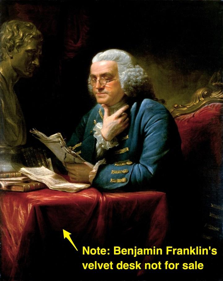 Benjamin Franklin's desk