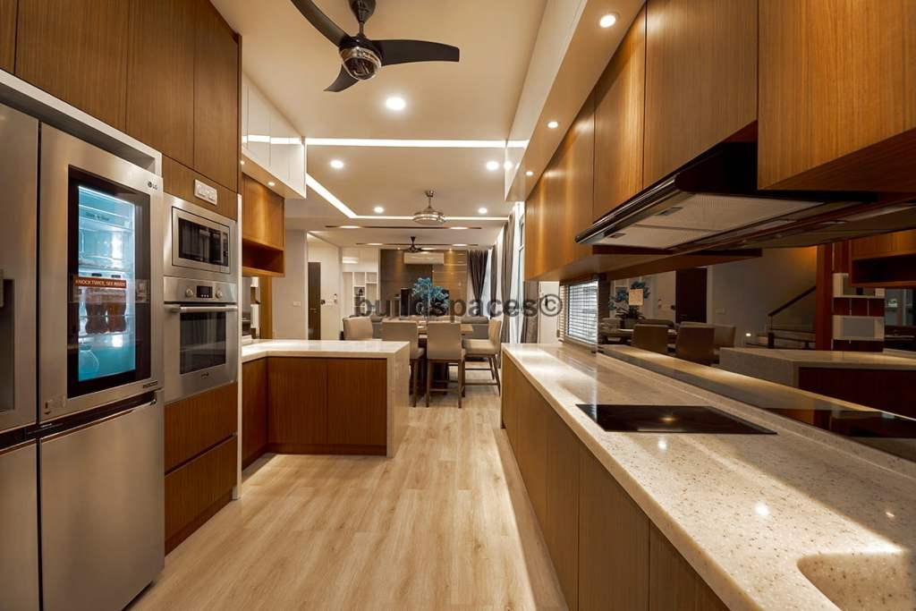 Built-in cabinetry wood