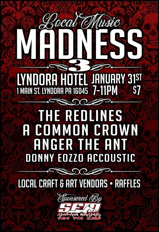 01/31 Local Music Madness 3