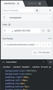 طبيق تغييرات CSS