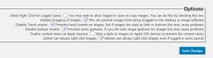 No Right Click Images