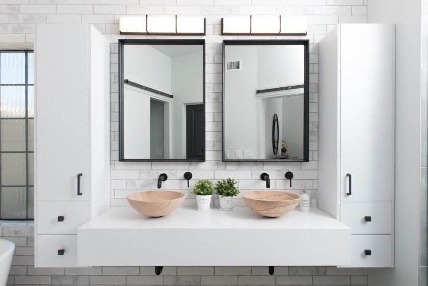 Master Bathroom Vanity - 3rd St New Build